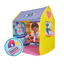 doc mcstuffins playhouse disney doc mcstuffins roleplay tent 25 00 hamleys for toys