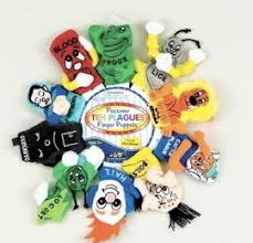 passover toys passover ten plagues finger puppets passover toys shalom