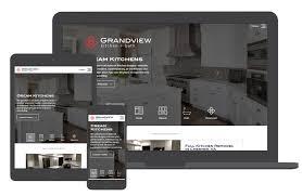 website design case study grandview kitch u0026 bath key web concepts