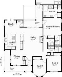 main floor plan for 9953 master on the main floor house plan