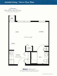 melrose meadows assisted living apartments floor plans