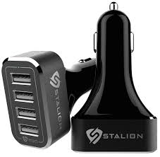amazon black friday usb power adapter amazon com stalion 4 usb port 9 6 amps car charger adapter for