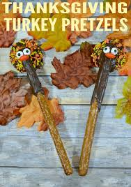 thanksgiving turkey pretzels totally the bomb