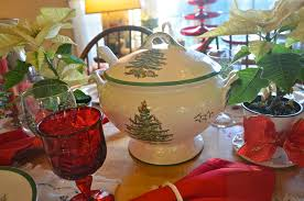 entertaining women spode christmas tree x 2
