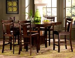 furniture glamorous counter height table dining sets room design