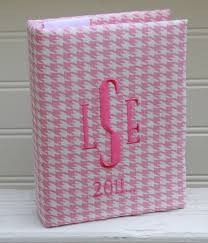 monogrammed photo album unique monogrammed 4x6 photo album