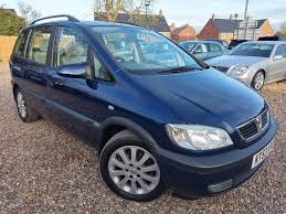 opel zafira 2002 interior used vauxhall zafira cars for sale motors co uk