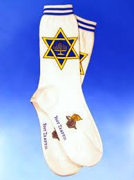chanukah socks of david socks women s of david blue chanukah