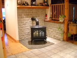 furniture chic corner room decoration with jotul wood stove