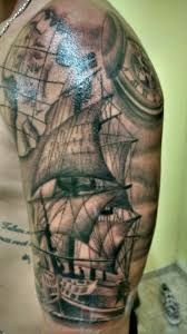 Nautical Map Tattoo 33 Best Tattoos Images On Pinterest Pirate Ship Tattoos Pirate