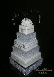 Cake Vase Set Diy Crystal Wedding Cake Stand Cake Stand Chandelier Youtube