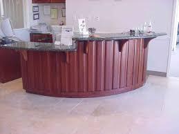 Unique Reception Desk Curved Office Desk Furniture Interior Design