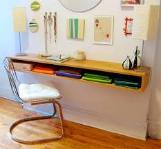 Wall Desk Ideas 8 Wall Mounted Desks That Save Room In Small Spaces