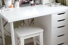 ikea brimnes dressing table diy ikea vanity makeup storage it s kt