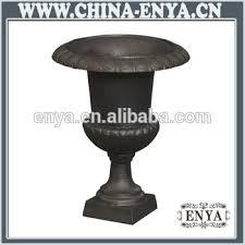cast iron planter classic flower pot garden urn vase buy