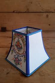 Square Lampshade Shadyladylampshades Fancy Embroidery Square Bell Lampshade