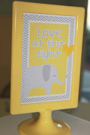 cool baby shower ideas yellow gray chevron baby shower ideas elephant theme crafty