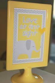 cool baby shower ideas yellow gray chevron baby shower ideas elephant theme crafty