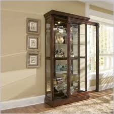Curio Cabinet With Glass Doors Curio Cabinets Glass Display Cabinets