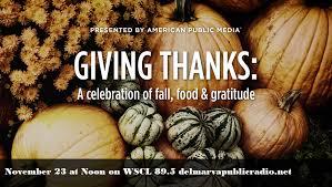 thanksgiving day specials on wscl 89 5 fm delmarva radio