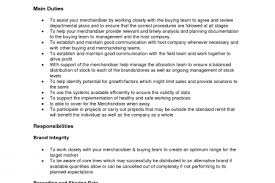 Visual Merchandising Job Description For Resume by Visual Merchandiser Resume Sample Reentrycorps