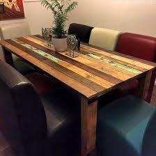 Diy Pallet Wood Distressed Table Computer Desk 101 Pallets by 157 Best Diy Pallet Tables Images On Pinterest Wood Entry