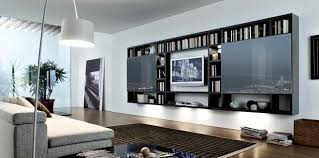 living elegant white polished wood ikea wall unit tv storage
