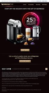 thanksgiving sales usa newspaper advertising promotion nespresso
