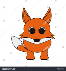 cute animal cartoon icon image stock vector 617515826 shutterstock