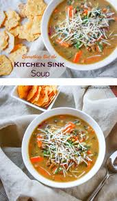 Everything But The Kitchen Sink Soup Gluten Free - Everything and the kitchen sink