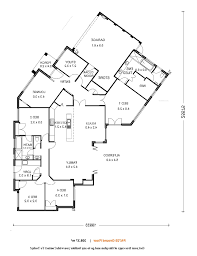 home design 4 bedroom ranch floor plans single story for house