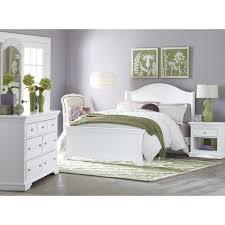 White Platform Bedroom Sets Ne Kids Walnut Street Morgan Platform Bed White Hayneedle