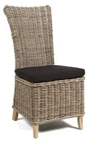 wicker dining room chair decorating charming seagrass dining chairs for inspiring dining