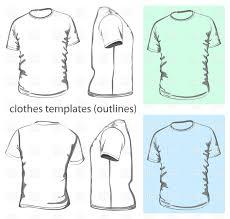 simple t shirt design template vector image 5321 u2013 rfclipart