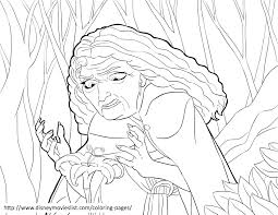 disney u0027s tangled coloring pages sheet free disney printable
