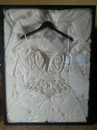 Wedding Dress Box Shadow Box