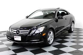 used mercedes coupe 2012 used mercedes e350 coupe 4matic awd amg sport navigation