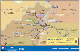 Stl Metro Map by Citizens For Modern Transit Corridors To Be Studied For Possible