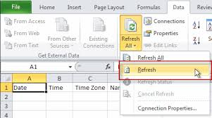 excel importing text files into excel sheets