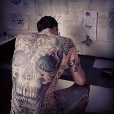 Best Back Tattoos For Guys Skull Designs For Men28 Designs