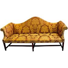 chippendale sofa 18th century american chippendale camelback sofa at 1stdibs