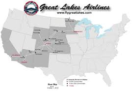 Alaska Airlines Map by Beech 1900d World Airline News