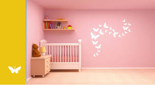 asian paints wall stories butterfly diy stencil kit white l152