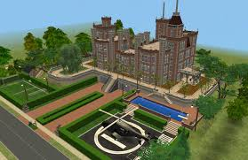 mod the sims x men mansion charles xavier u0027s for gifted