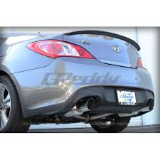 2012 hyundai genesis coupe 2 0 t evolution evo3 exhaust hyundai genesis coupe 2 0t 2010 2012 10107301