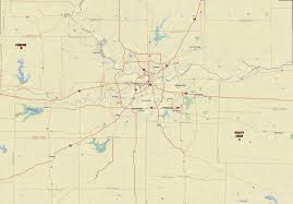 Kansas City Metro Map by Capt Spaulding U0027s World 03 July 2011