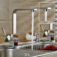 robinet cuisine design auralum robinet mitigeur carré pour cuisine design élégant en forme