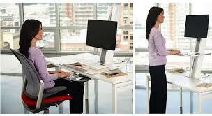 bureau pour travailler debout mobilier de bureau ergonomique