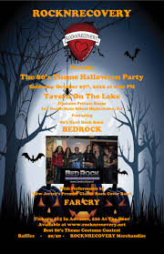 rocknrecovery presents the 80 u0027s theme halloween party