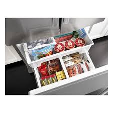 French Door Refrigerator Without Water Dispenser - wrf560seym whirlpool 30